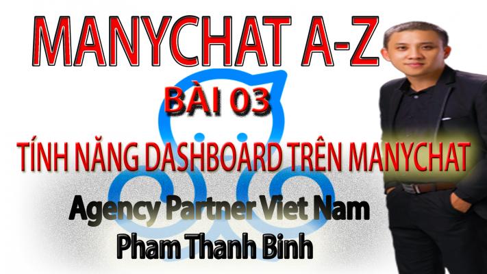 Tính năng Dashboard của Manychat