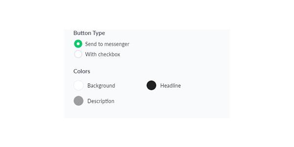 Thiết lập Button Type