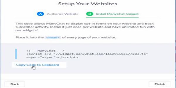 Copy mã dán vào thẻ Header của website