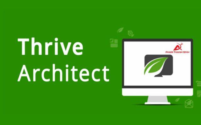 Thrive Architect-Nền tảng tạo Landing Page số 1 thế giới